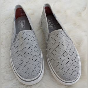 Keds Perforated Slip On Sneakers